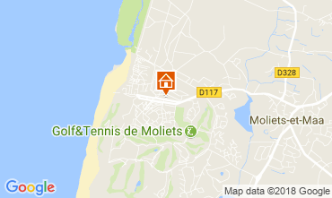 Carte Moliets Mobil-home 114388