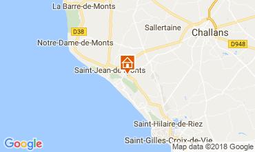 Carte Saint Jean de Monts Mobil-home 115158