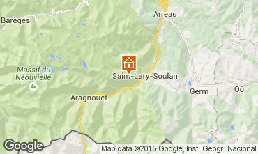 Carte Saint Lary Soulan Studio 14959