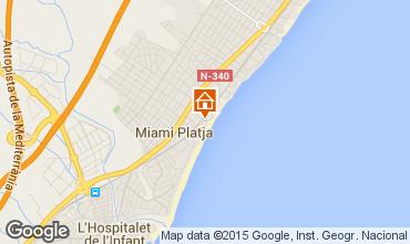 Carte Miami Playa Appartement 34588