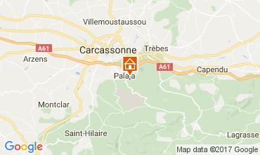Carte Carcassonne Gite 108339