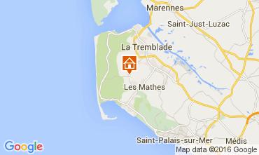 Carte La Palmyre Mobil-home 103615