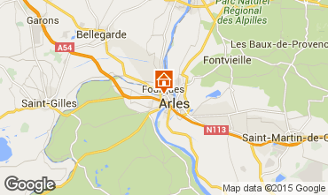 Carte Arles Appartement 95089