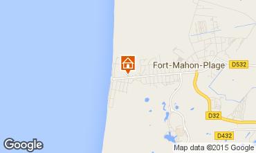 Carte Fort Mahon Appartement 50917