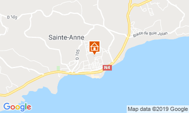Carte Sainte Anne (Guadeloupe) Bungalow 118496