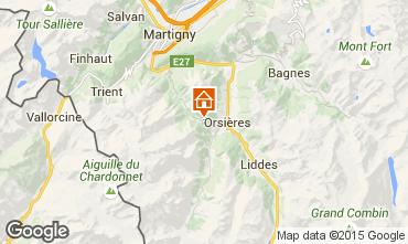 Carte Champex-Lac Appartement 58868