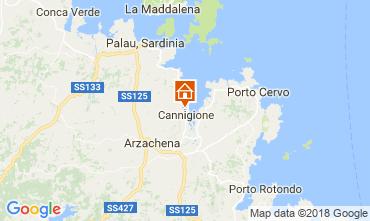 Carte Cannigione Appartement 112050