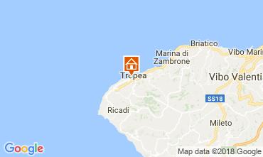 Carte Tropea Appartement 114015