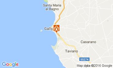 Carte Gallipoli Appartement 107466