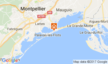 Carte Palavas-les-Flots Villa 110505