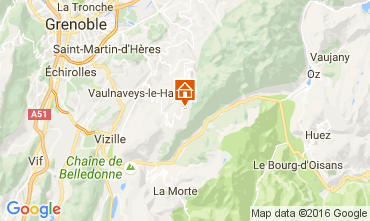 Carte Chamrousse Appartement 16753