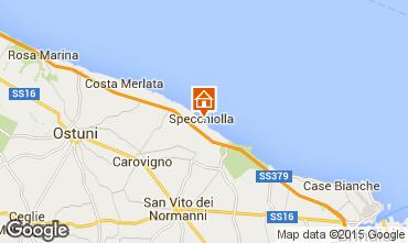 Carte Ostuni Villa 95650