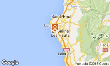 Carte La Saline les Bains Villa 78754