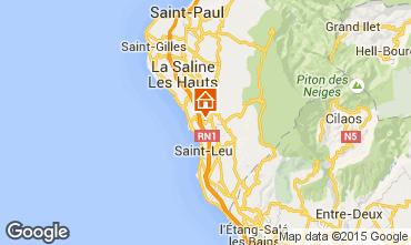 Carte Saint Leu Villa 84364