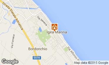 Carte Italie Bellaria.Locations Vacances Bellaria Igea Marina Pour 7 Personnes