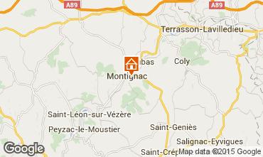 Carte Montignac sur Vézère (Grottes de Lascaux) Maison 83435