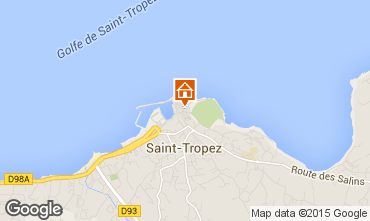 Carte Saint Tropez Studio 80076