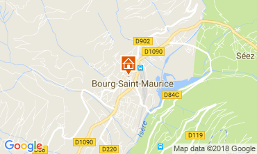 Carte Bourg saint Maurice Appartement 286