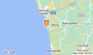 Carte Viana Do castelo Maison 109480