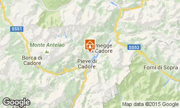Carte Cortina d'Ampezzo Appartement 40563
