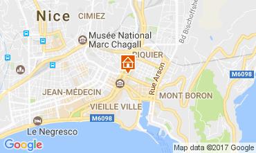 Carte Nice Appartement 107653