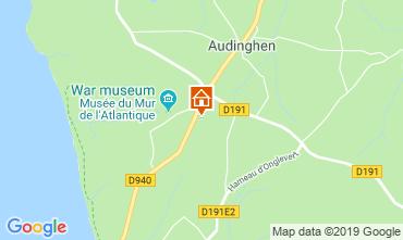 Carte Audinghen Gite 119201