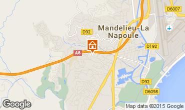 Carte Mandelieu la Napoule Appartement 51200