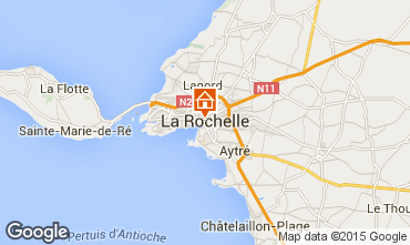 Carte La Rochelle Studio 79513
