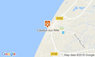 Carte Cayeux-sur-Mer Appartement 115439