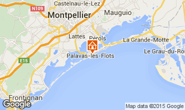 Carte Palavas-les-Flots Appartement 83188