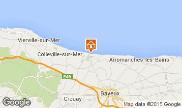 Carte Bayeux Gite 95123