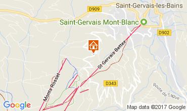 Carte Saint-Gervais-les-Bains Chalet 112421