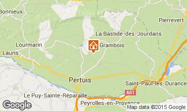 Carte La Tour d'Aigues Gite 92894