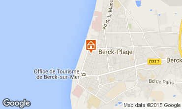 Carte Berck-Plage Appartement 8893