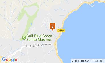 Carte Sainte Maxime Appartement 76437