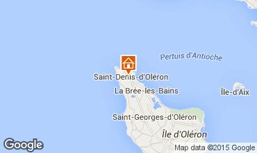 Carte Saint Denis d'Oléron Maison 55536