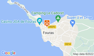 Carte Fouras Gite 98435