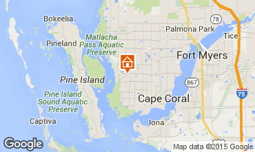 Carte Cape Coral Villa 57904