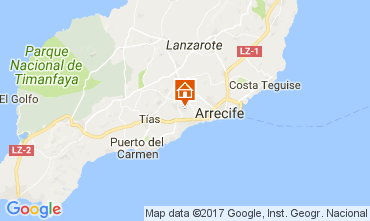 Carte San Bartolomé de Lanzarote Chambre d'hôte 101468