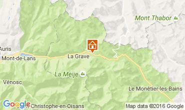 Carte La Grave - La Meije Maison 4763