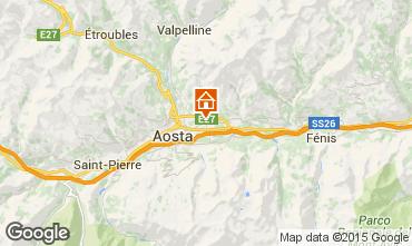 Carte Aoste Villa 92168