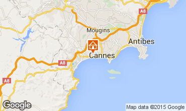 Carte Cannes Appartement 73628