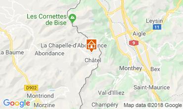 Carte Châtel Chalet 117459