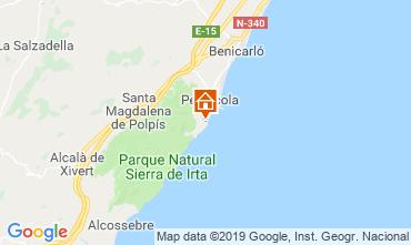 Carte Peñíscola Appartement 117705