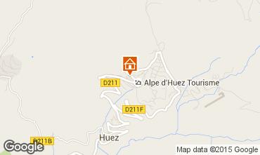 Carte Alpe d'Huez Studio 58480