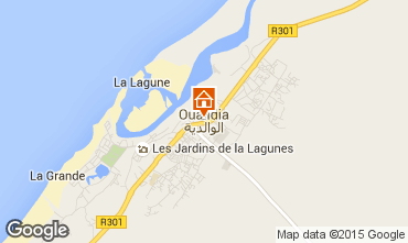 Carte Oualidia Villa 72568