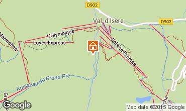 Carte Val d'Isère Appartement 3347