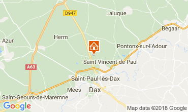 Carte Saint Paul les Dax Maison 114907