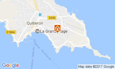 Carte Quiberon Appartement 107693