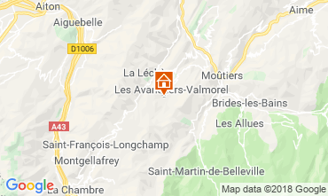Carte Valmorel Studio 54858